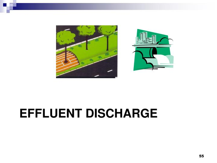 EFFLUENT DISCHARGE