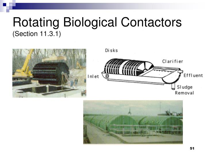 Rotating Biological Contactors