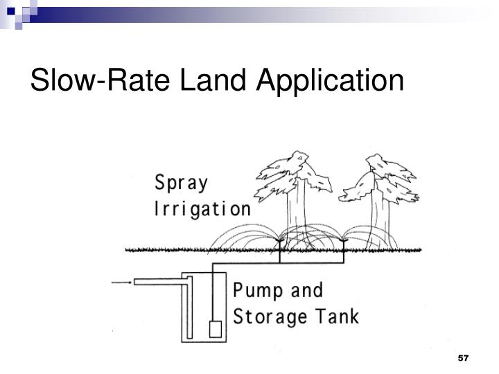 Slow-Rate Land Application