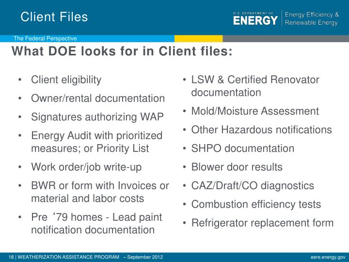Client Files