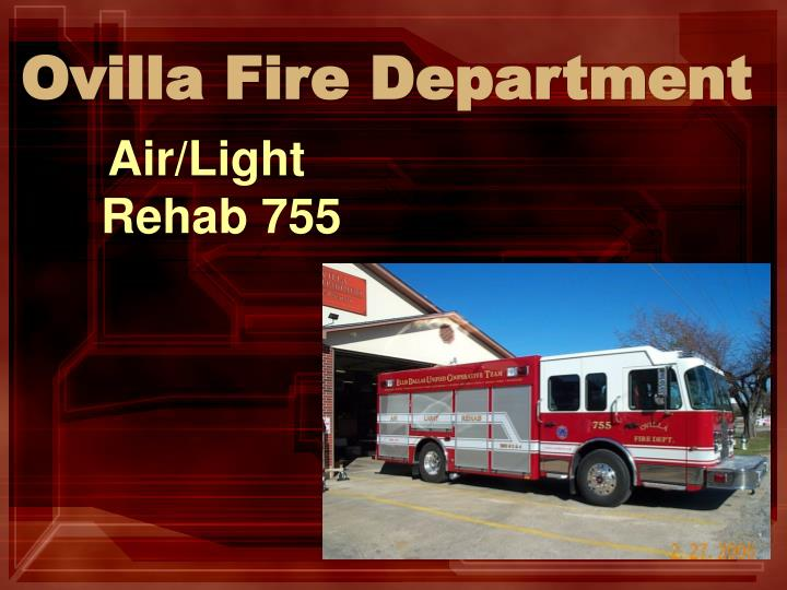 ovilla fire department
