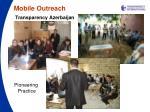 mobile outreach transparency azerbaijan