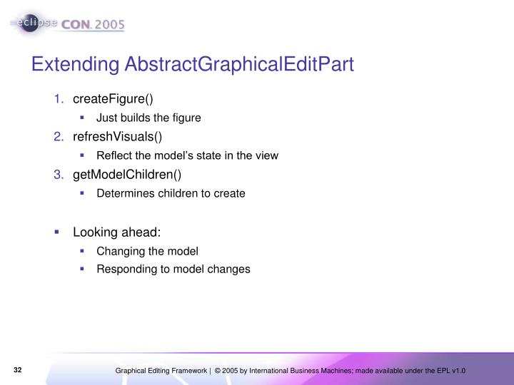 Extending AbstractGraphicalEditPart