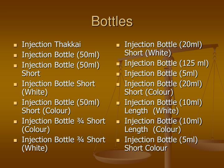 Injection Thakkai