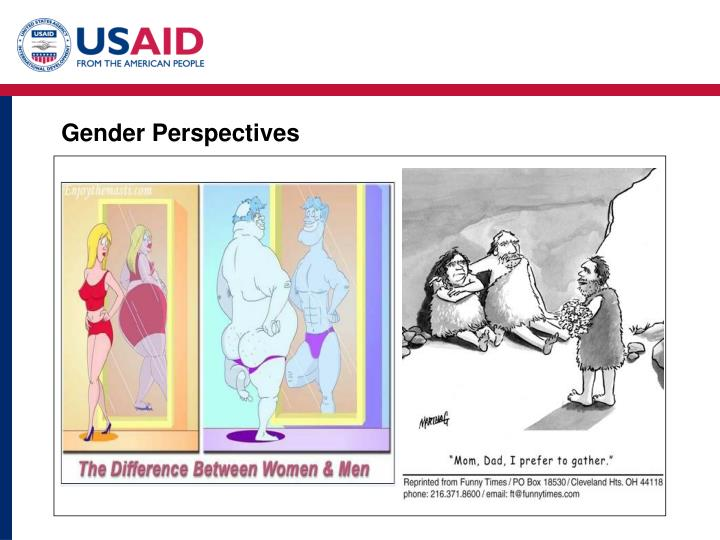 Gender Perspectives