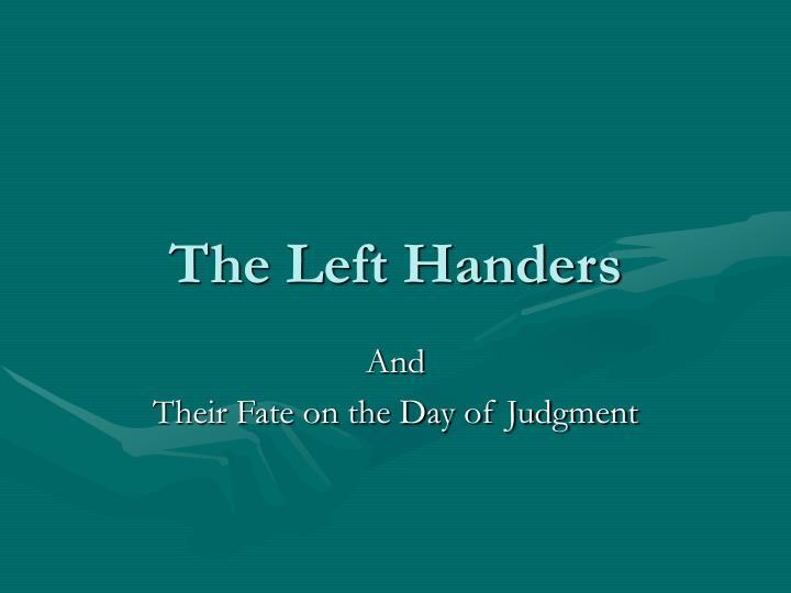 The Left Handers