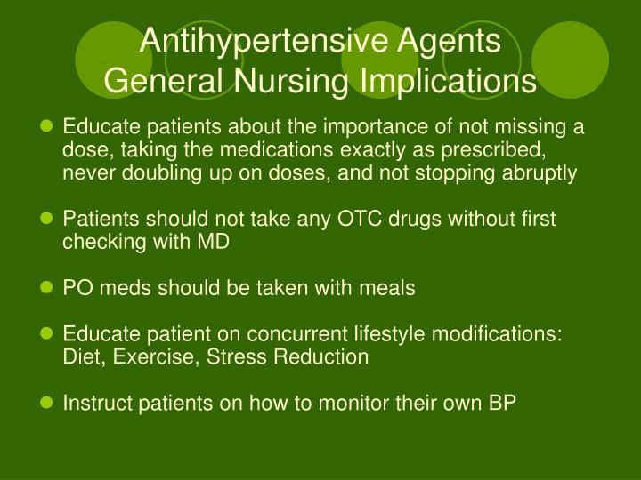 Antihypertensive Agents