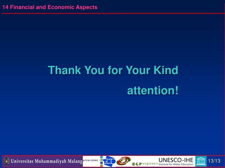 Thank You for Your Kind