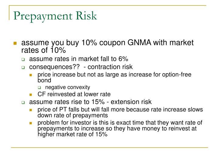Prepayment Risk