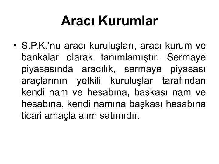 Arac Kurumlar