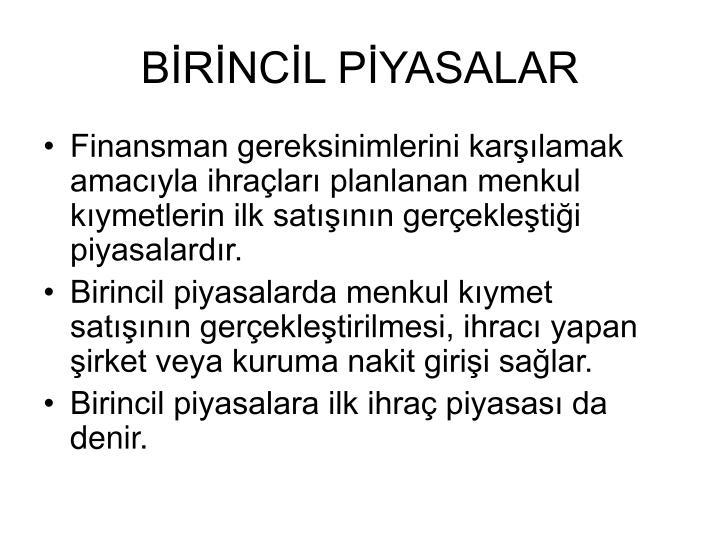 BRNCL PYASALAR