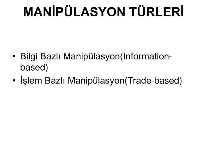 MANPLASYON TRLER