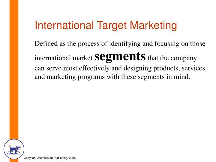 International Target Marketing