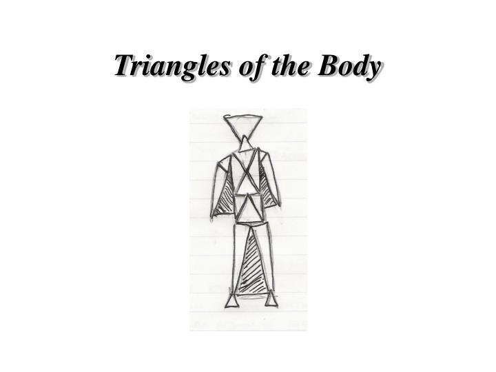 Triangles of the Body