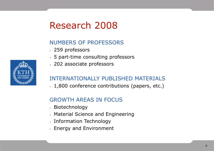 Research 2008