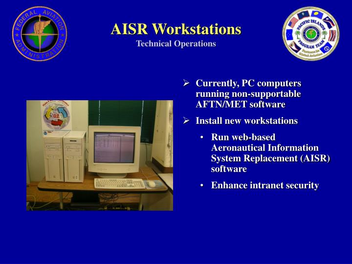 AISR Workstations