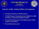future projects continued technical operations