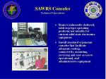 sawrs consoles technical operations