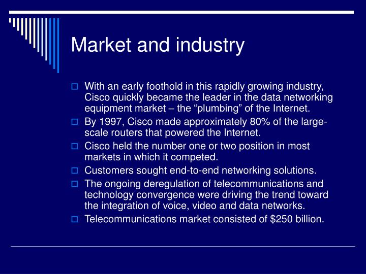 Market and industry