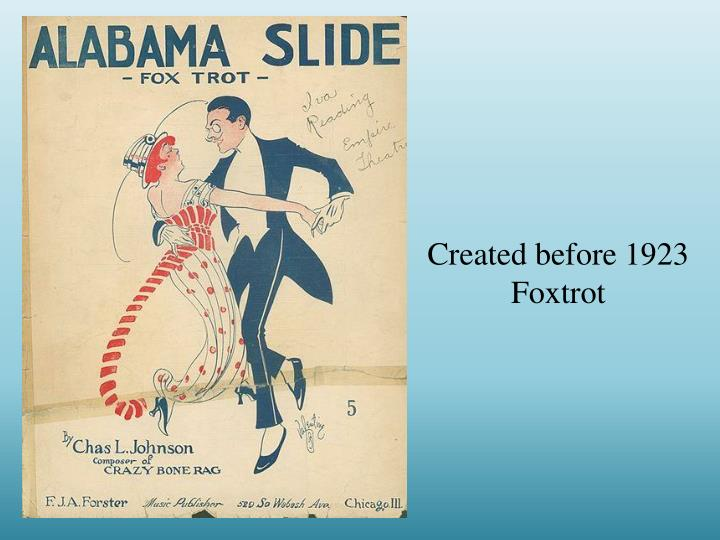 Created before 1923