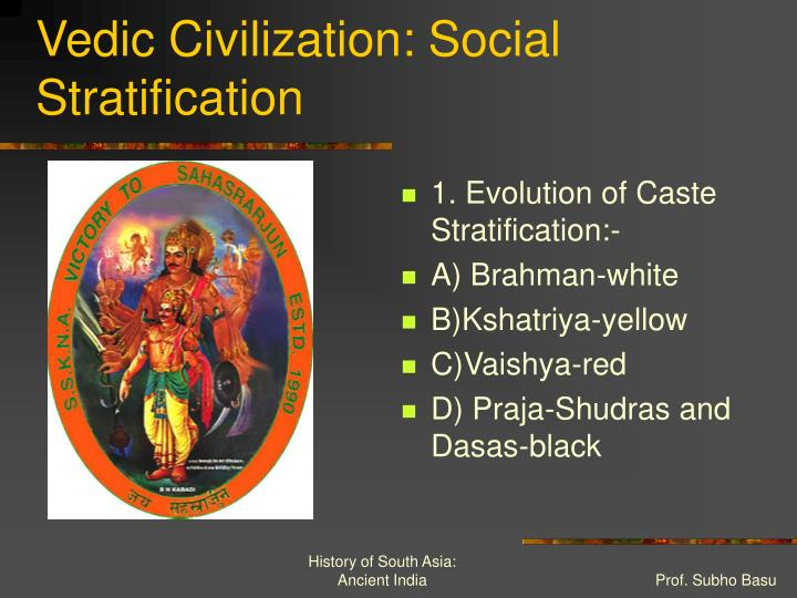 Vedic Civilization: Social Stratification