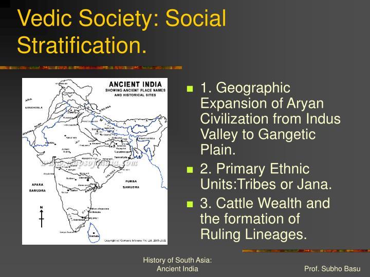 Vedic Society: Social Stratification.
