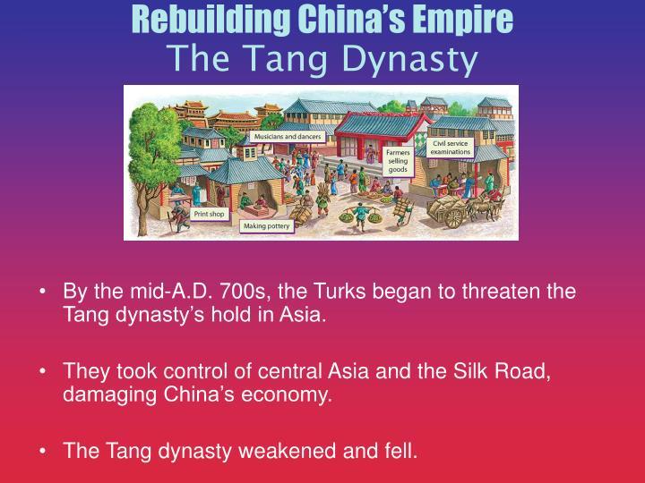 Rebuilding China's Empire