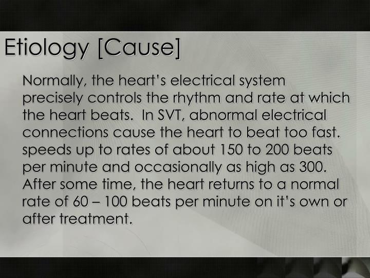 Etiology [Cause]
