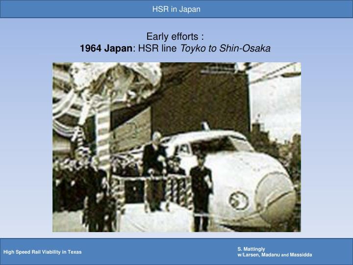 HSR in Japan