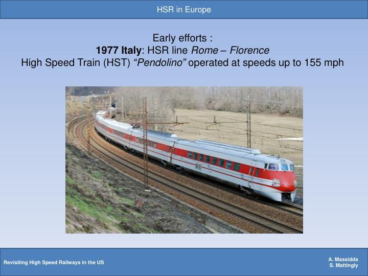 HSR in Europe