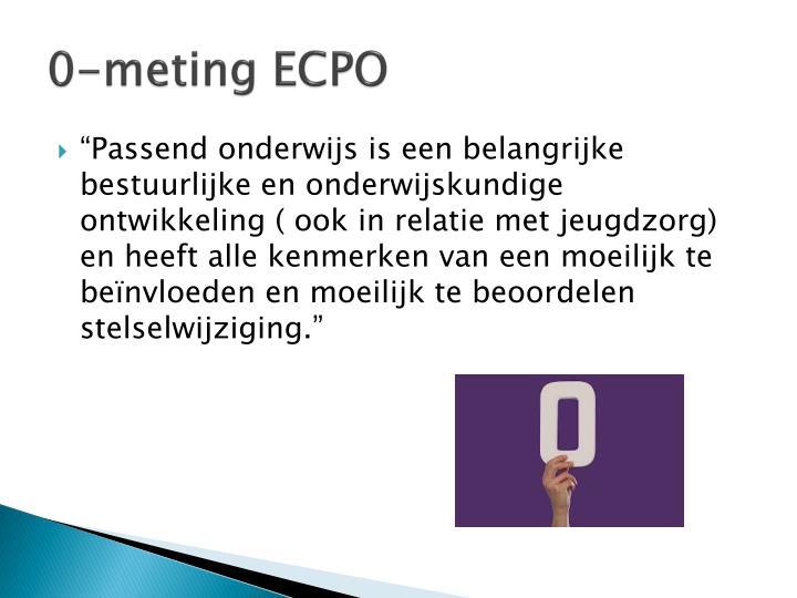 0-meting ECPO