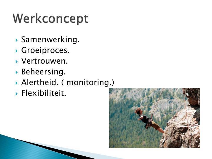 Werkconcept