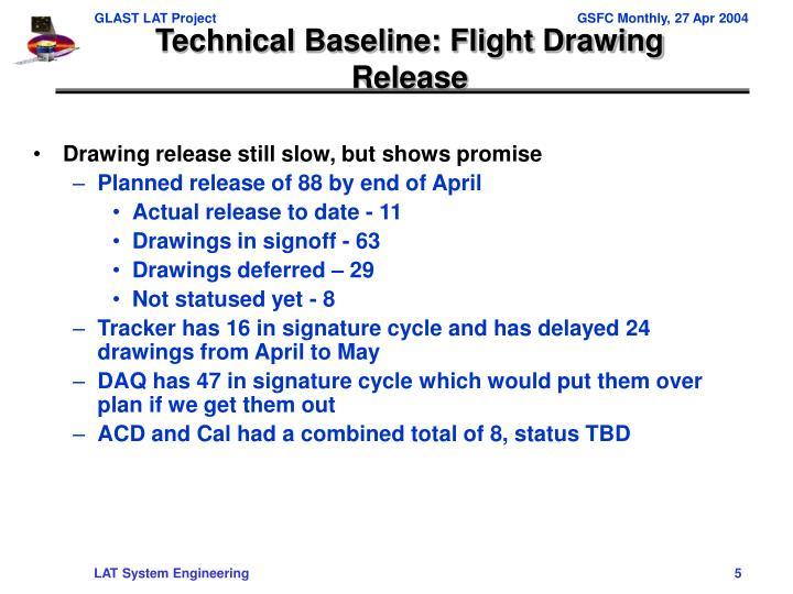 Technical Baseline: Flight Drawing Release
