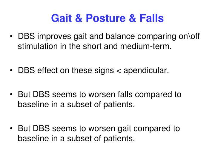 Gait & Posture & Falls