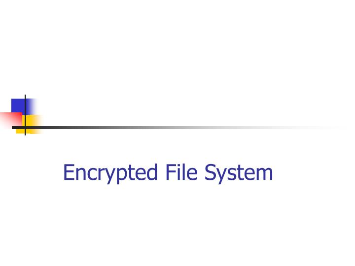 Encrypted File System