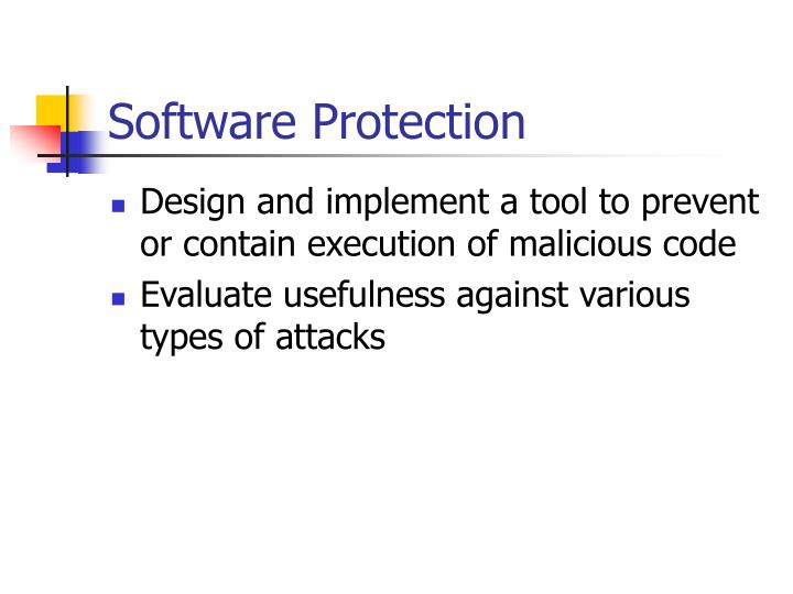 Software Protection