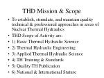 thd mission scope