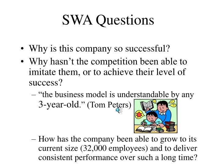 SWA Questions