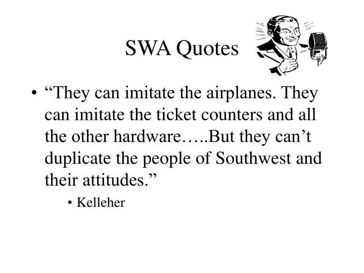 SWA Quotes
