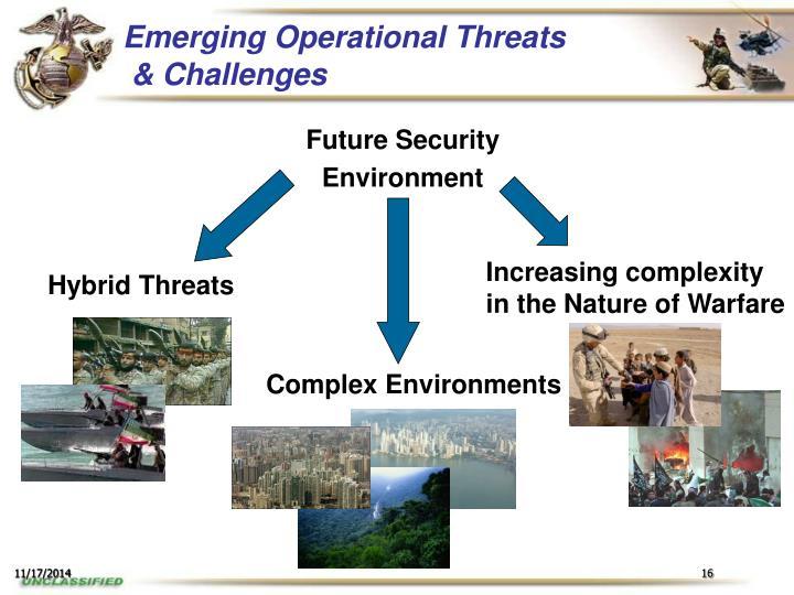 Emerging Operational Threats