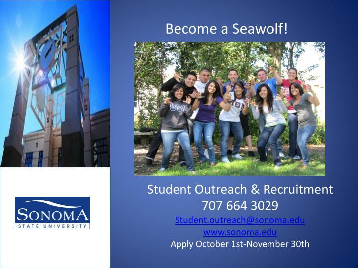 Become a Seawolf!