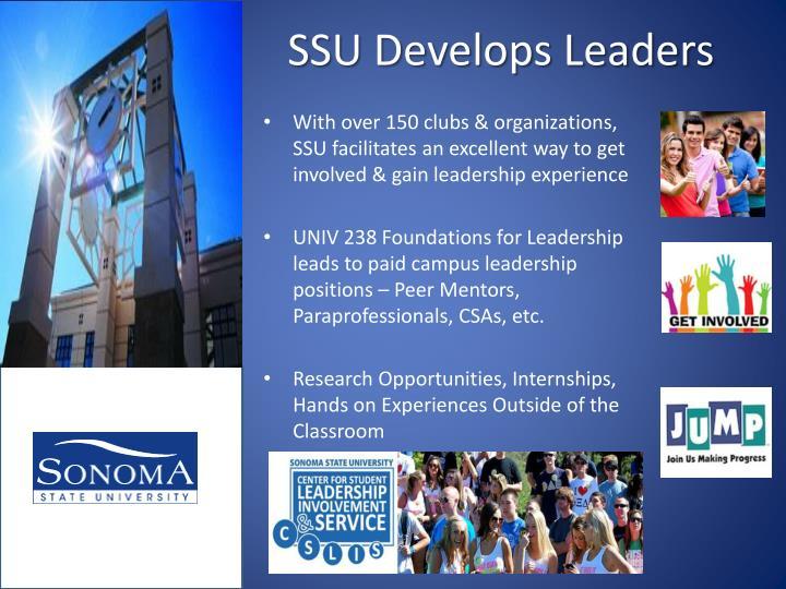SSU Develops Leaders