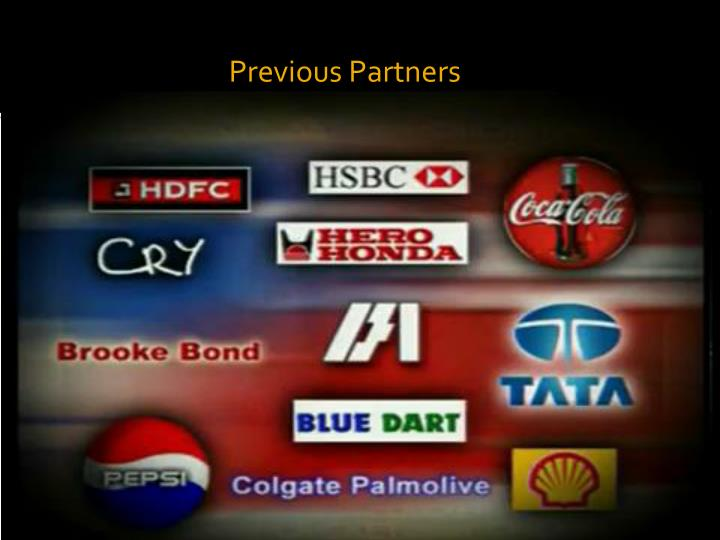 Previous Partners