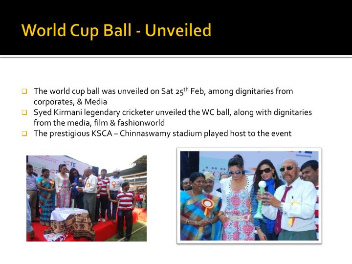 World Cup Ball - Unveiled