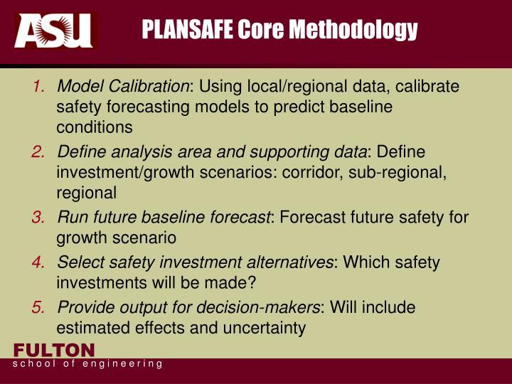 PLANSAFE Core Methodology