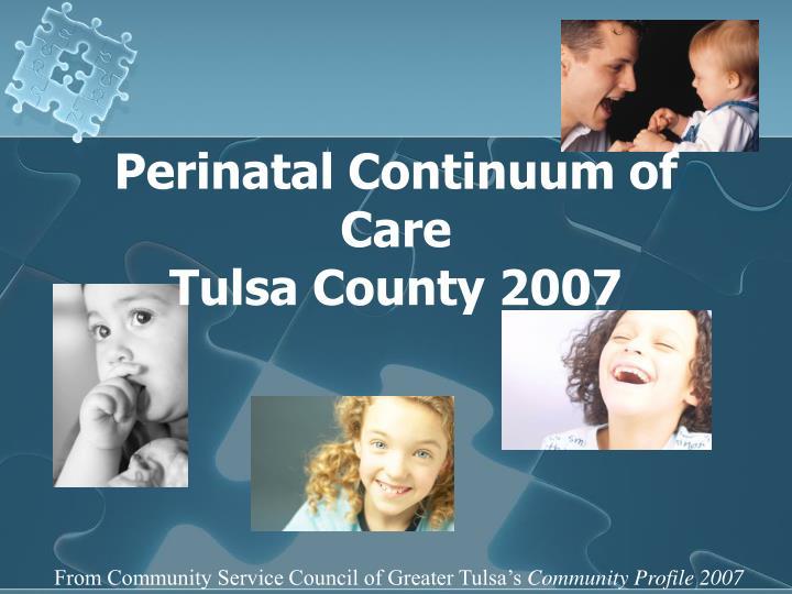 Perinatal Continuum of Care