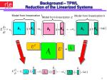 background tpwl reduction of the linearized systems