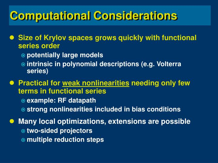 Size of Krylov spaces grows quickly with functional series order