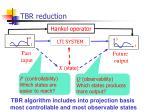 tbr reduction