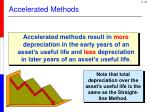 accelerated methods
